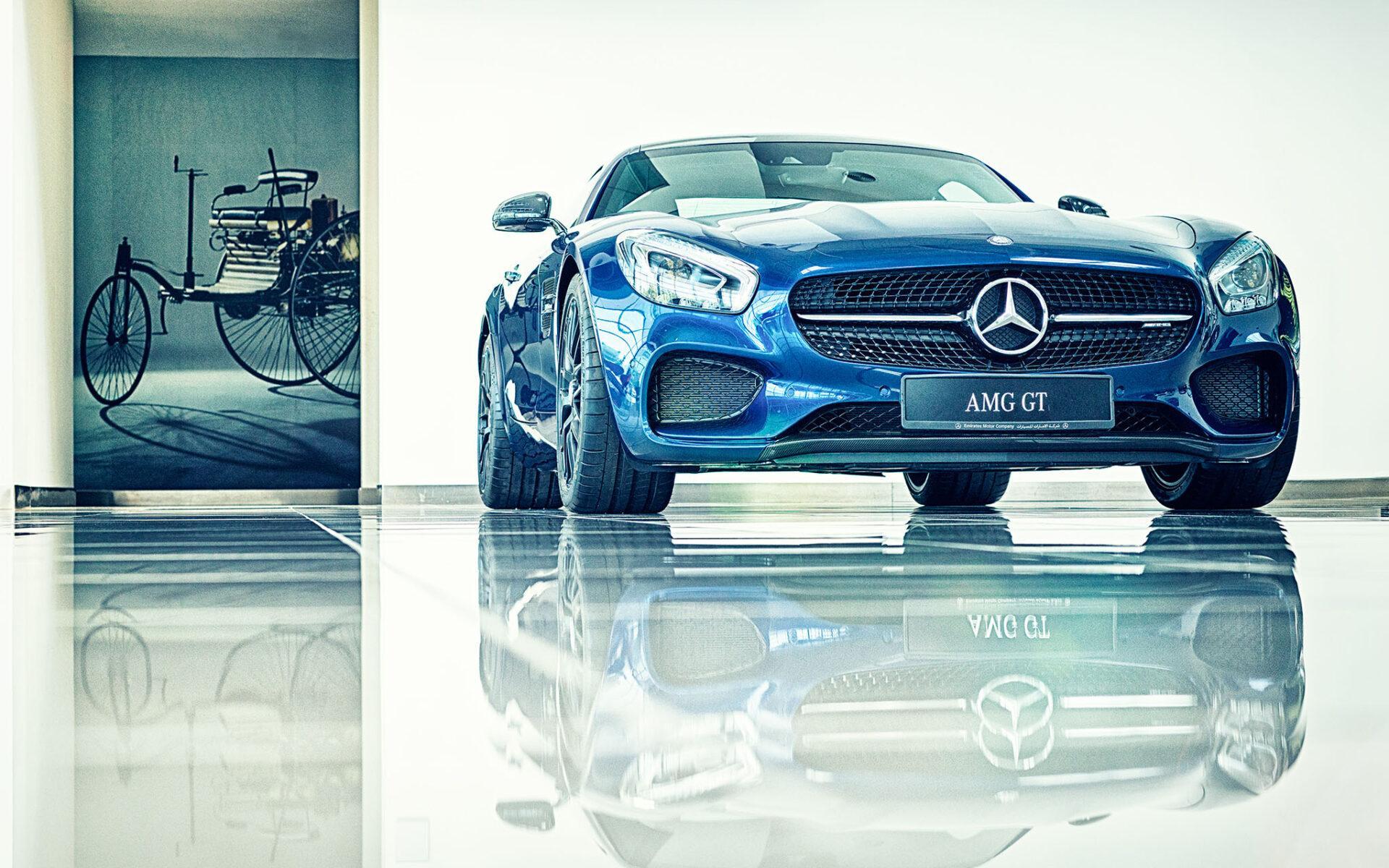 Video & Film Production Dubai - UAE - image hg_Harniman_Mercedes-GT-1920x1200 on https://www.kalideme.com